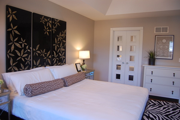 Best ideas about Revere Pewter Bedroom . Save or Pin Greige Paint Eclectic bedroom Benjamin Moore Revere Now.