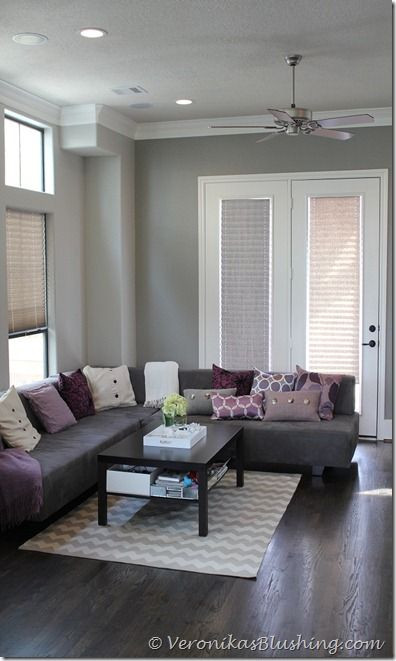 """Best ideas about Revere Pewter Living Room . Save or Pin Benjamin Moore's """"Revere Pewter"""" finally found the Now."""
