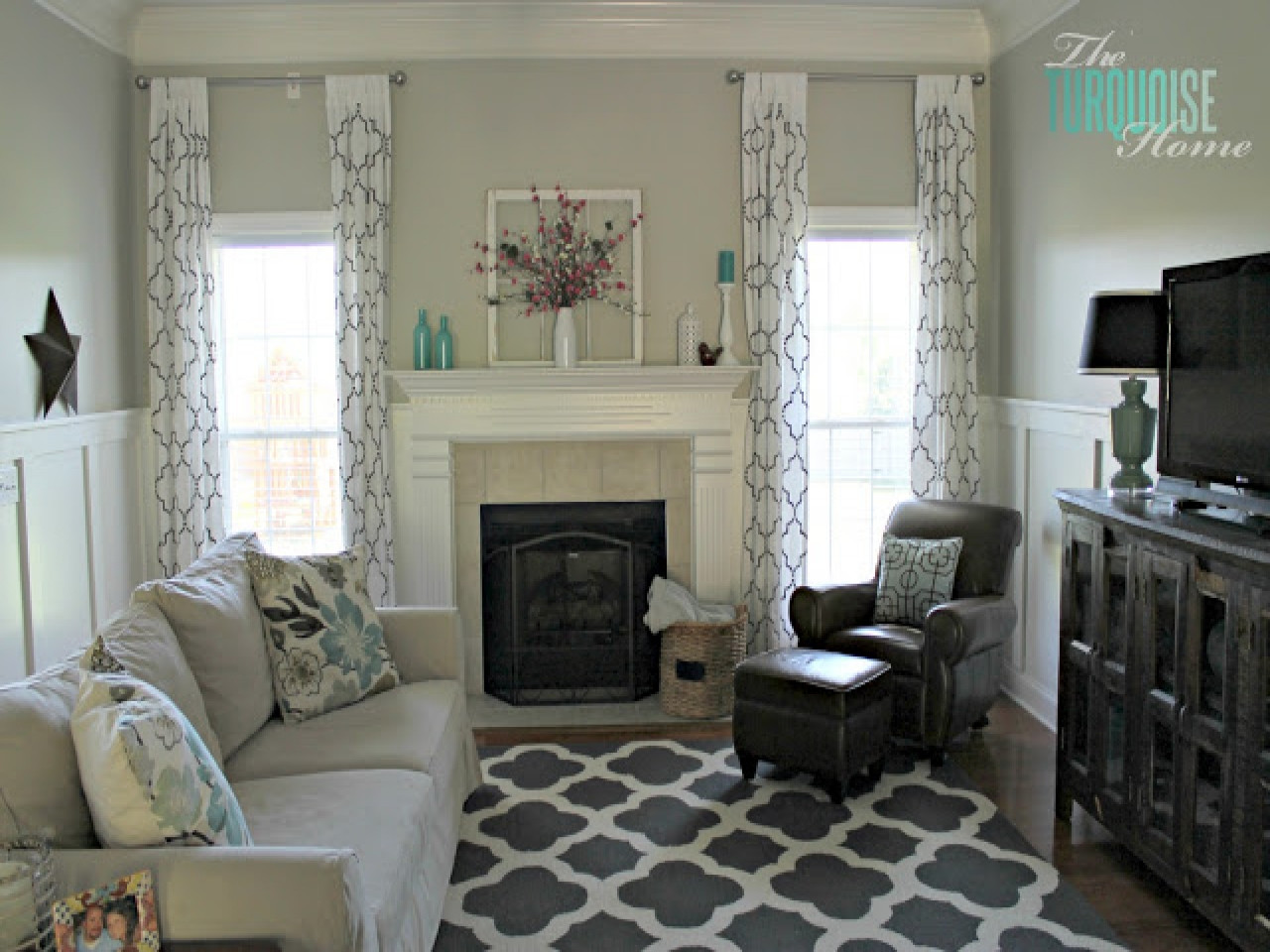 Best ideas about Revere Pewter Living Room . Save or Pin Purple and gray bedrooms benjamin moore revere pewter Now.