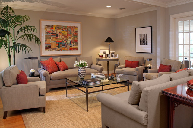 Best ideas about Revere Pewter Living Room . Save or Pin Revere Pewter too light for this livingroom Pic Now.