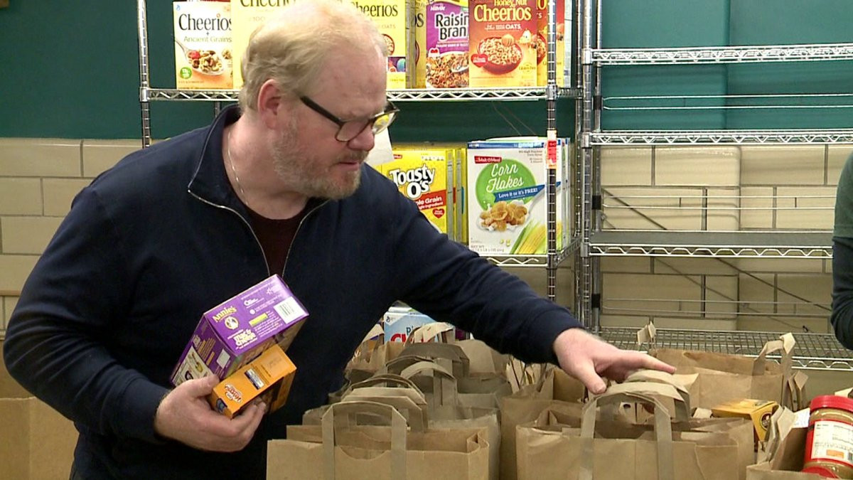 Best ideas about Riverwest Food Pantry . Save or Pin edian Jim Gaffigan and family support Riverwest Food Now.