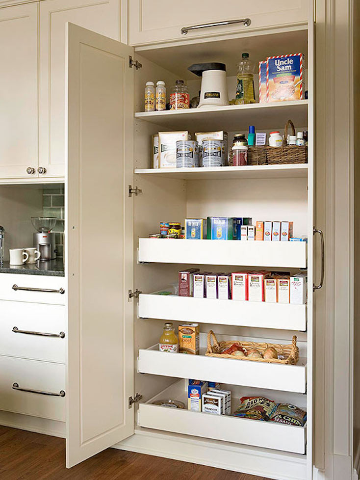 Best ideas about Roll Out Pantry . Save or Pin Creative Pantry Organizing Ideas and Solutions Now.