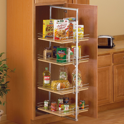 Best ideas about Roll Out Pantry . Save or Pin Center Mount Pantry Roll Out System Nickel in Pull Out Now.