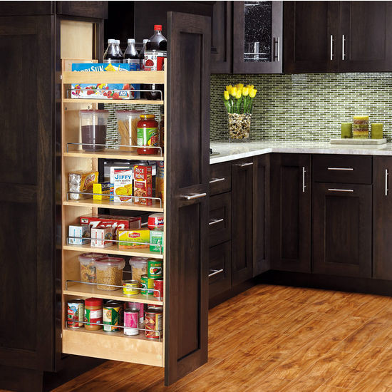 Best ideas about Roll Out Pantry . Save or Pin Rev A Shelf Tall Wood Pull Out Pantry with Adjustable Now.