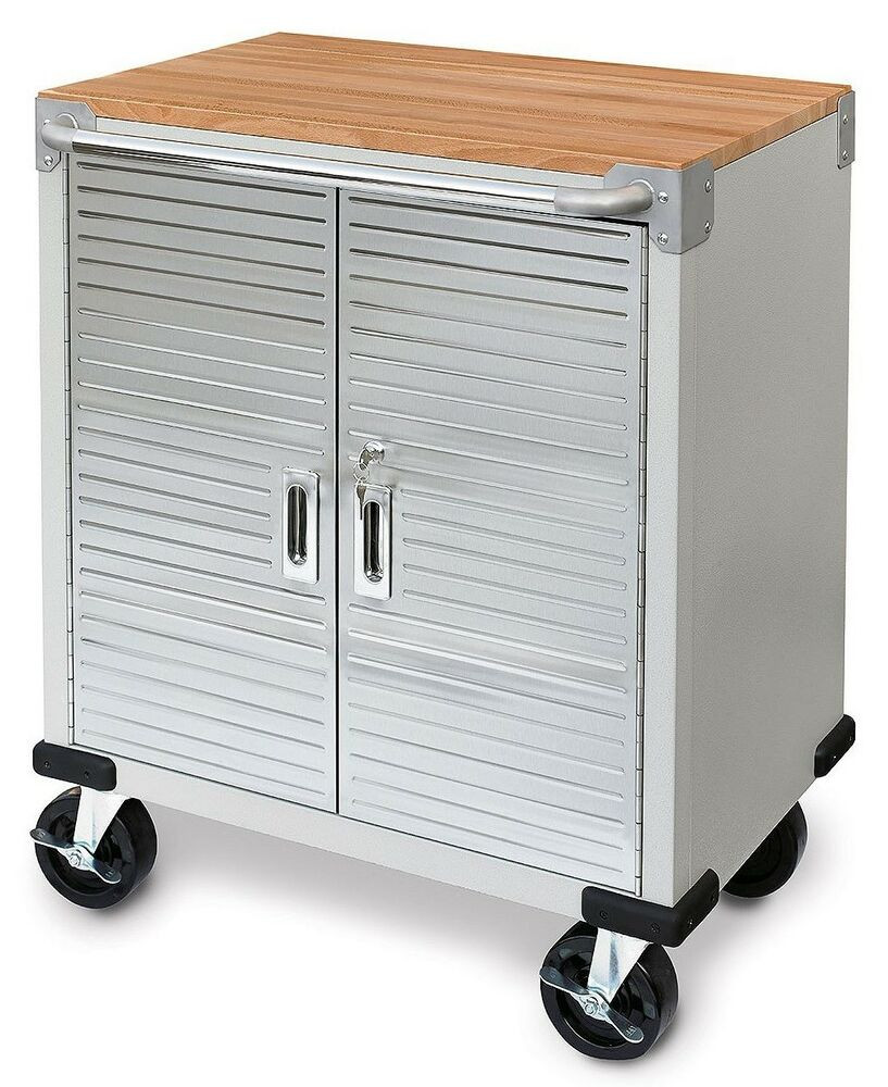 Best ideas about Rolling Storage Cabinet . Save or Pin Seville 2 Door Rolling Storage Cabinet Tool Box Cart Now.