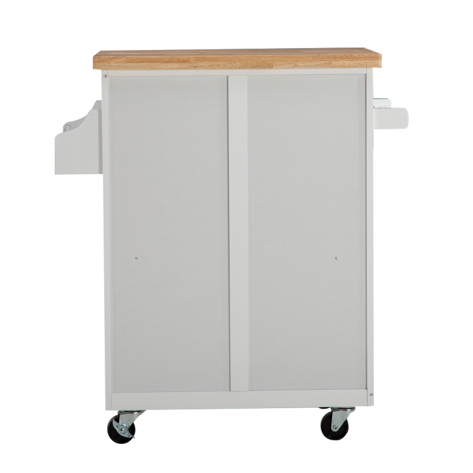 Best ideas about Rolling Storage Cabinet . Save or Pin White Kitchen Island Cart Trolley Wood Rolling Storage Now.