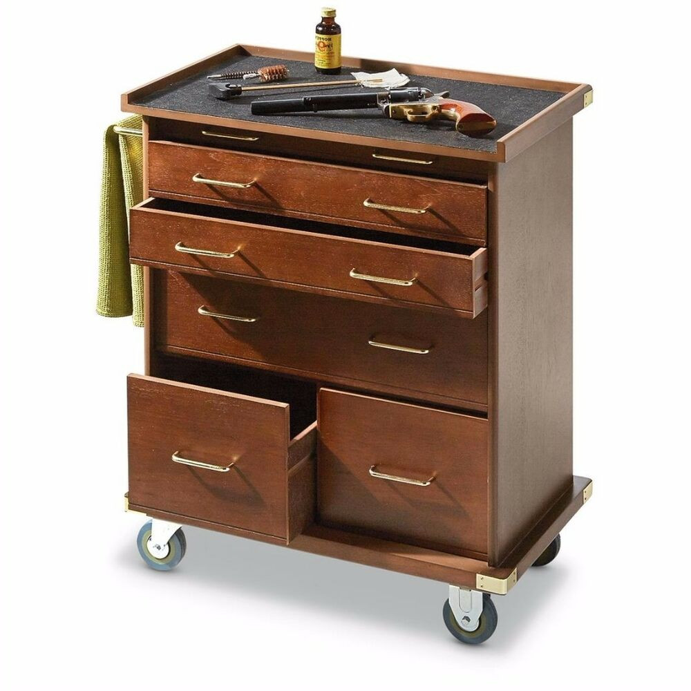 Best ideas about Rolling Storage Cabinet . Save or Pin Wooden Rolling Storage Cabinet 6 Drawer Storage Workshop Now.