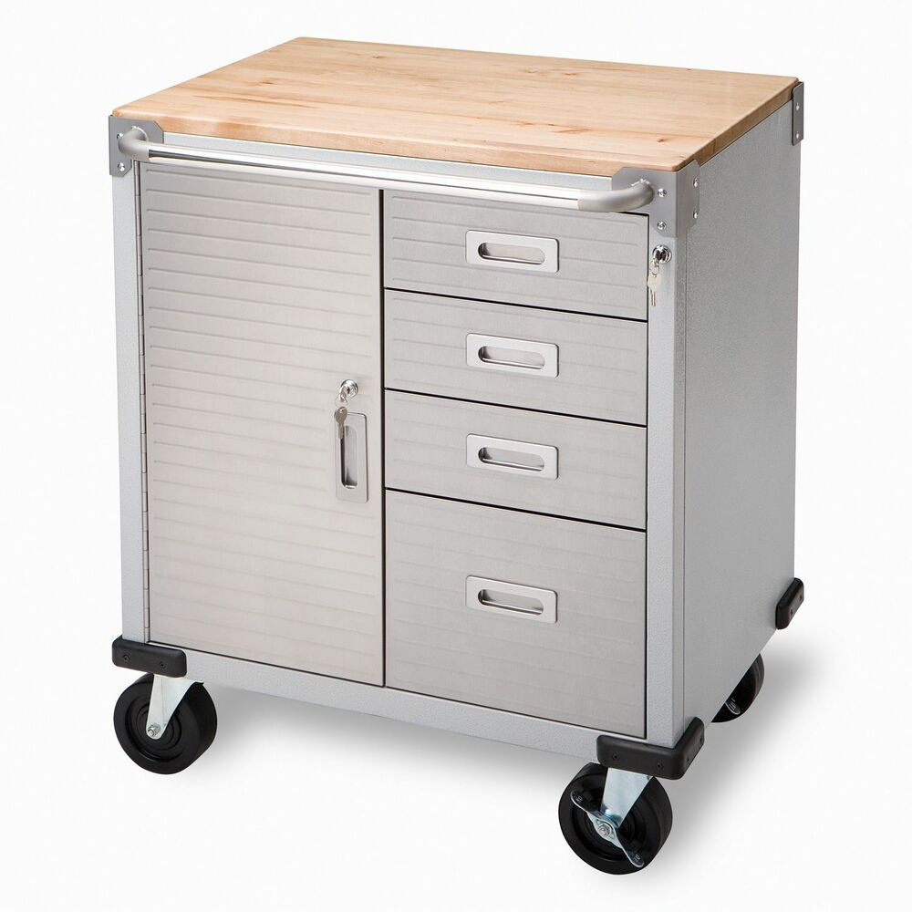 Best ideas about Rolling Storage Cabinet . Save or Pin Garage Ball Bearing Drawers Rolling Storage Cabinet Tool Now.