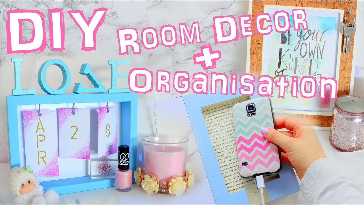 Best ideas about Room Organization DIY . Save or Pin Diy room decor and organization 2016 Now.