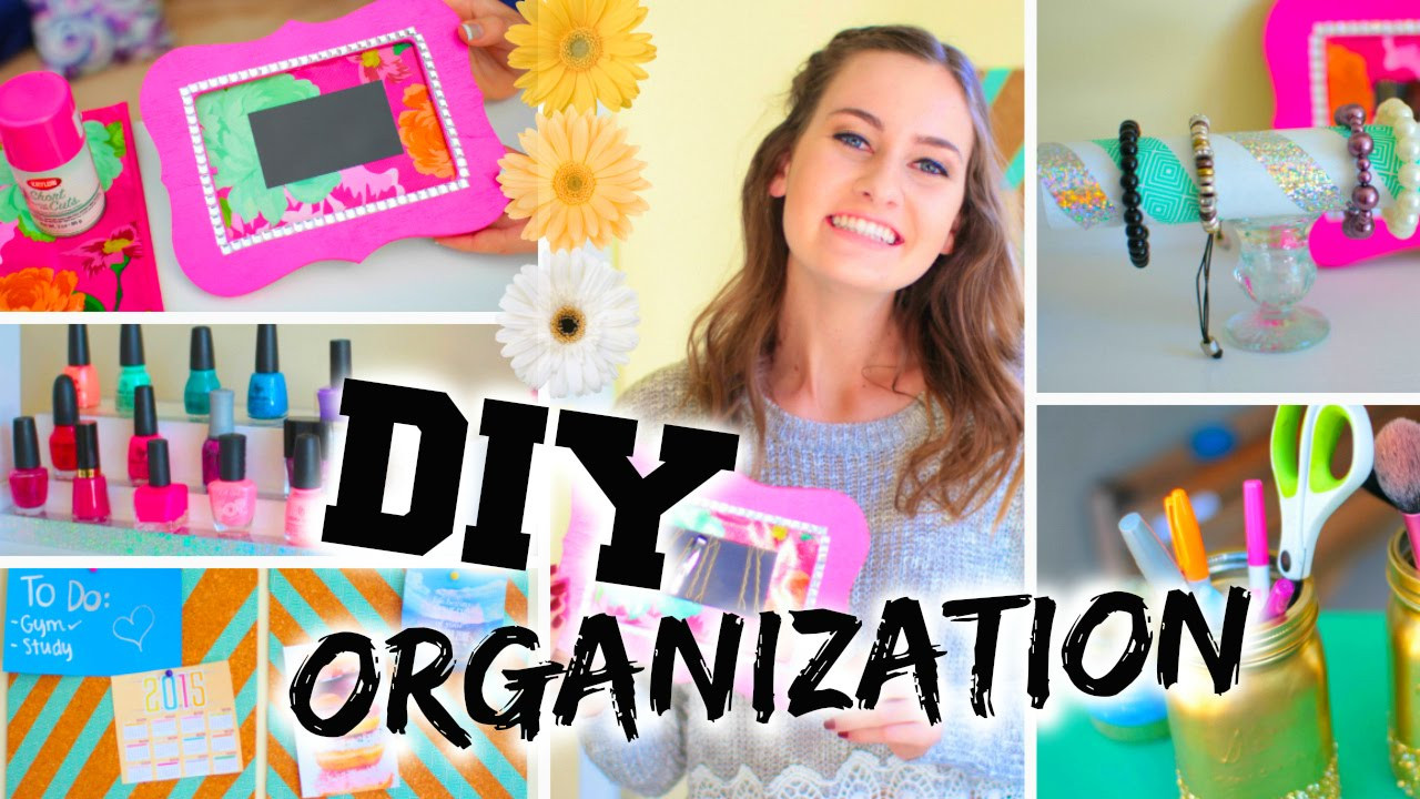 Best ideas about Room Organization DIY . Save or Pin DIY Room Organization Easy Ways to Organize Now.