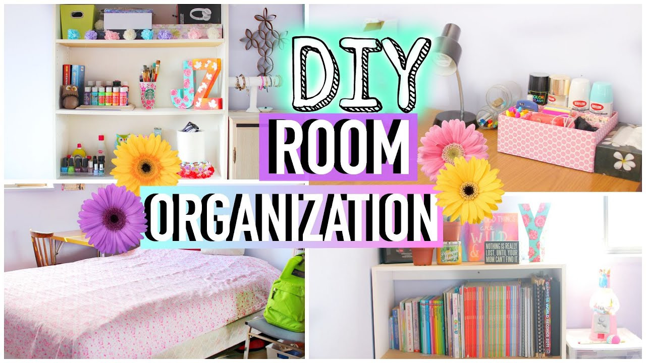 Best ideas about Room Organization DIY . Save or Pin How to Clean Your Room DIY Room Organization and Storage Now.