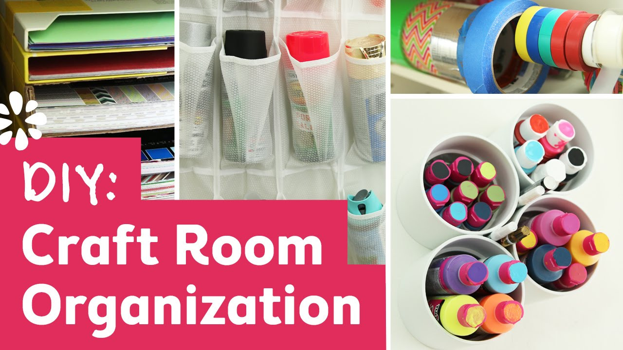 Best ideas about Room Organization DIY . Save or Pin DIY Craft Room Organization Ideas Now.