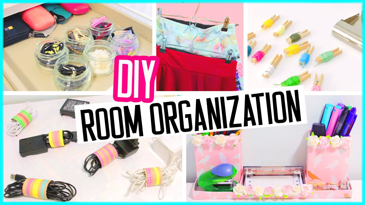 Best ideas about Room Organization DIY . Save or Pin DIY room organization hacks Low cost desk and room Now.