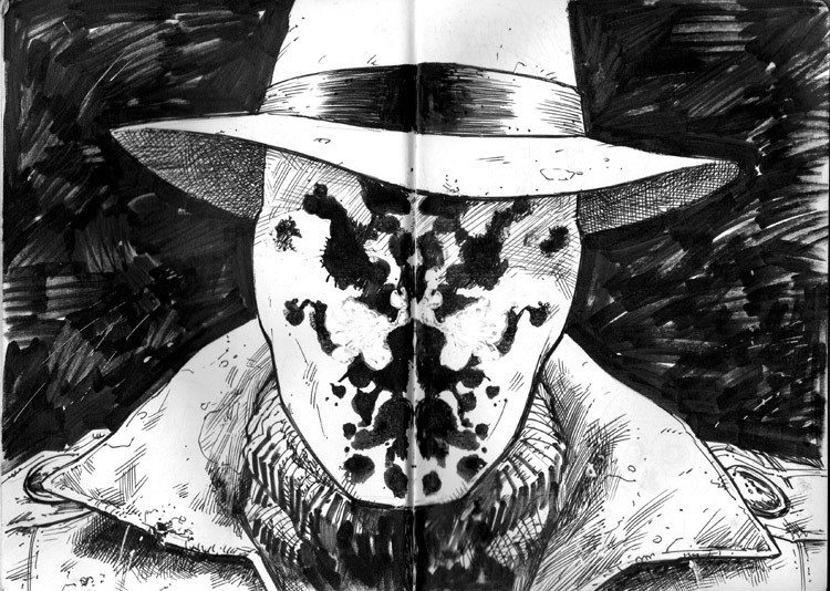 Best ideas about Rorschach Mask DIY . Save or Pin DIY Rorschach Mask Now.