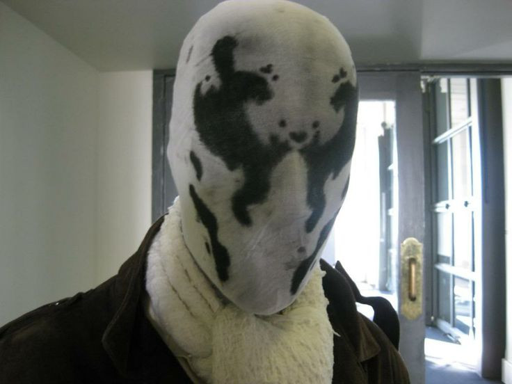 Best ideas about Rorschach Mask DIY . Save or Pin Wear moving Rorschach mask to be e attraction of party Now.