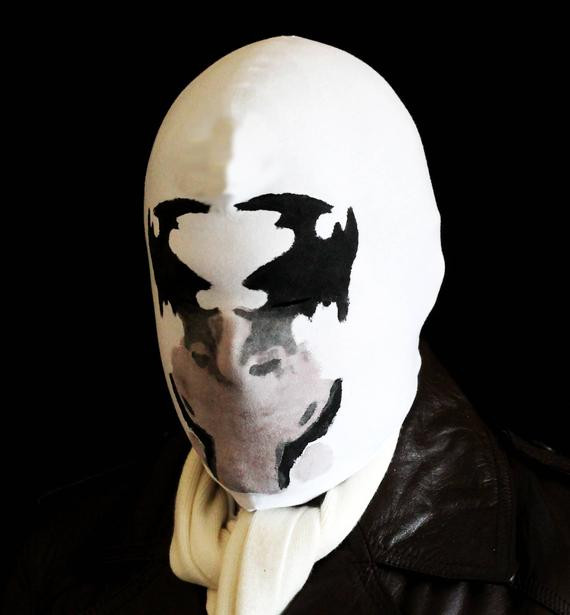 Best ideas about Rorschach Mask DIY . Save or Pin Rorschach mask with REAL moving inkblots Now.
