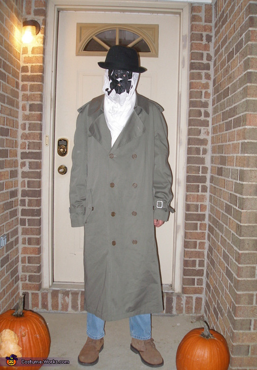 Best ideas about Rorschach Mask DIY . Save or Pin Rorschach Halloween Costume Now.