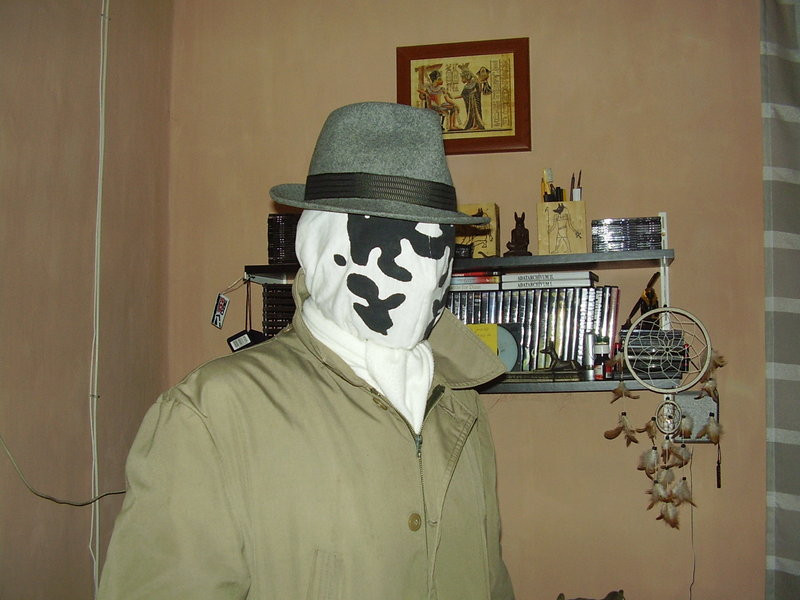 Best ideas about Rorschach Mask DIY . Save or Pin Homemade Rorschach mask by Kozi87 on DeviantArt Now.
