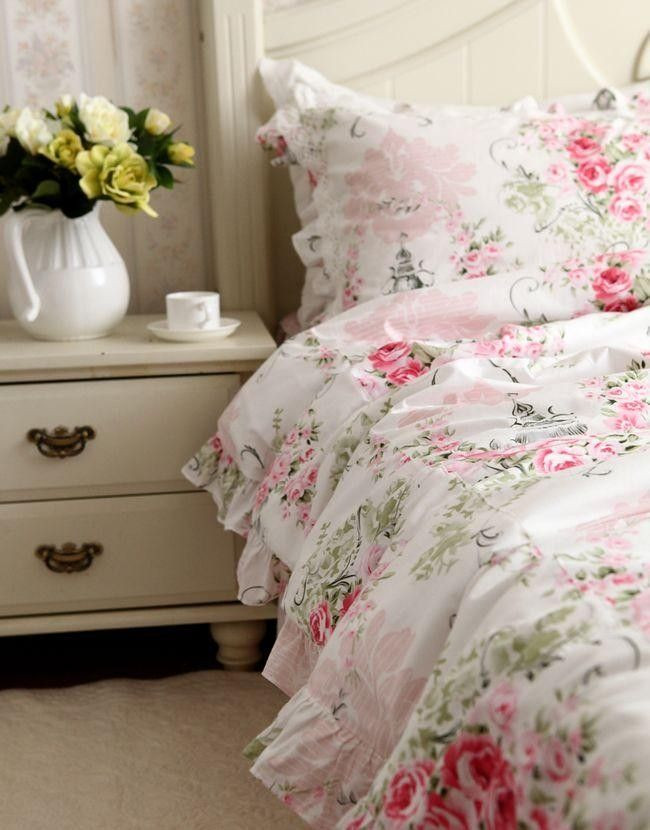 Best ideas about Roses Bedroom Set . Save or Pin Victorian Pink Rose Bedding Now.