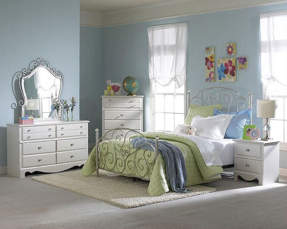 Best ideas about Roses Bedroom Set . Save or Pin Standard Furniture Spring Rose Bedroom Set ST SETDR Now.