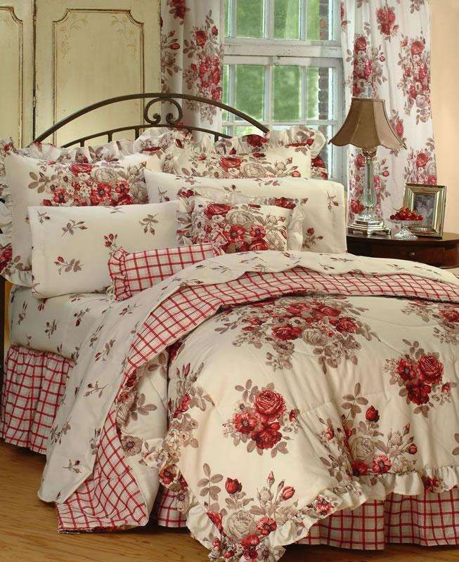 Best ideas about Roses Bedroom Set . Save or Pin Roses Bedding Sets Now.