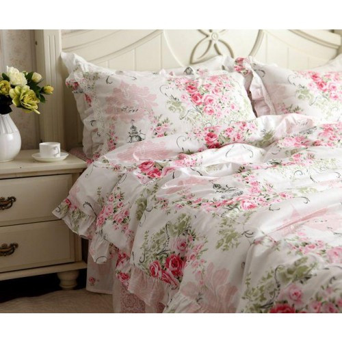 Best ideas about Roses Bedroom Set . Save or Pin pink rose bedding set Now.