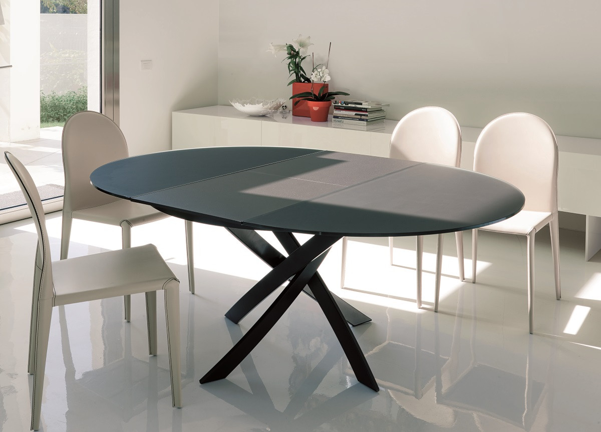 Best ideas about Round Extendable Dining Table . Save or Pin Bontempi Barone Extending Round Dining Table Go Modern Now.