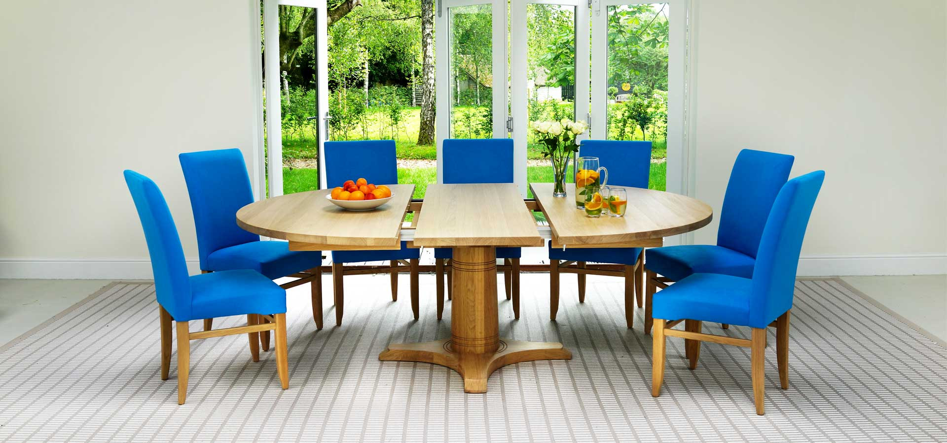 Best ideas about Round Extendable Dining Table . Save or Pin Contemporary Round Dining Table Now.