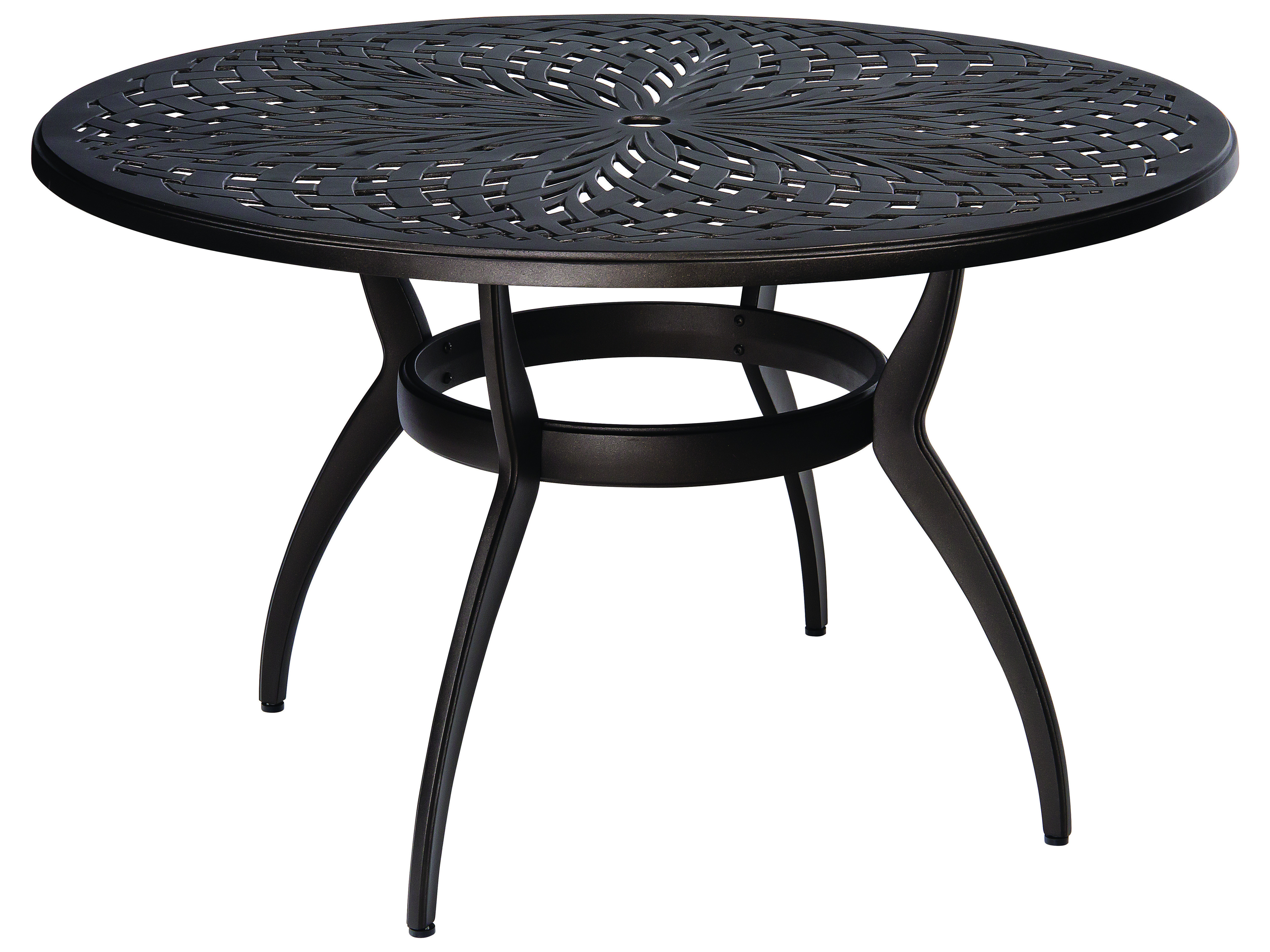 Best ideas about Round Patio Dining Table . Save or Pin Woodard Apollo Cast Aluminum 48 Round Dining Table with Now.