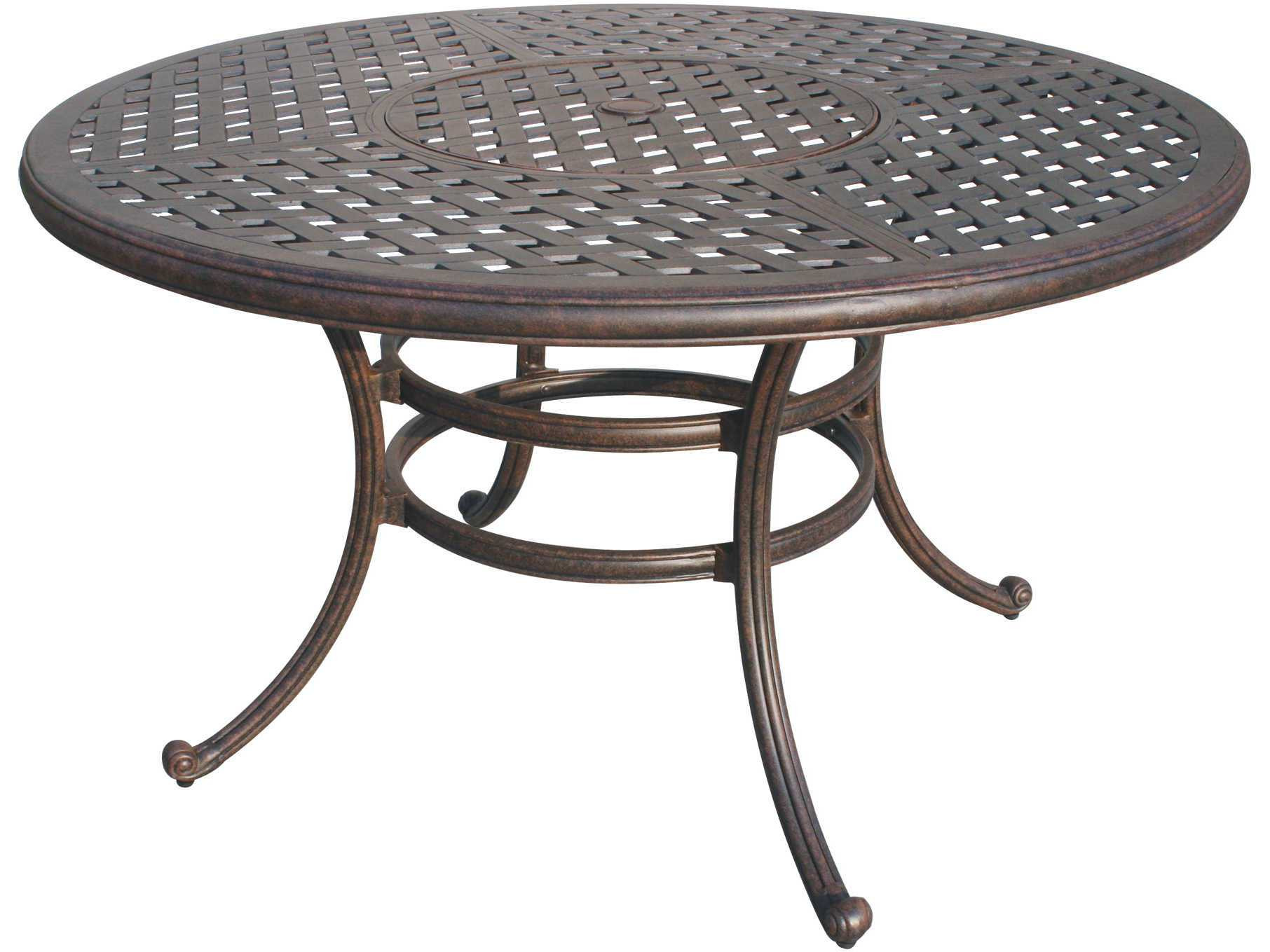 Best ideas about Round Patio Dining Table . Save or Pin Darlee Outdoor Living Series 30 Cast Aluminum Antique Now.