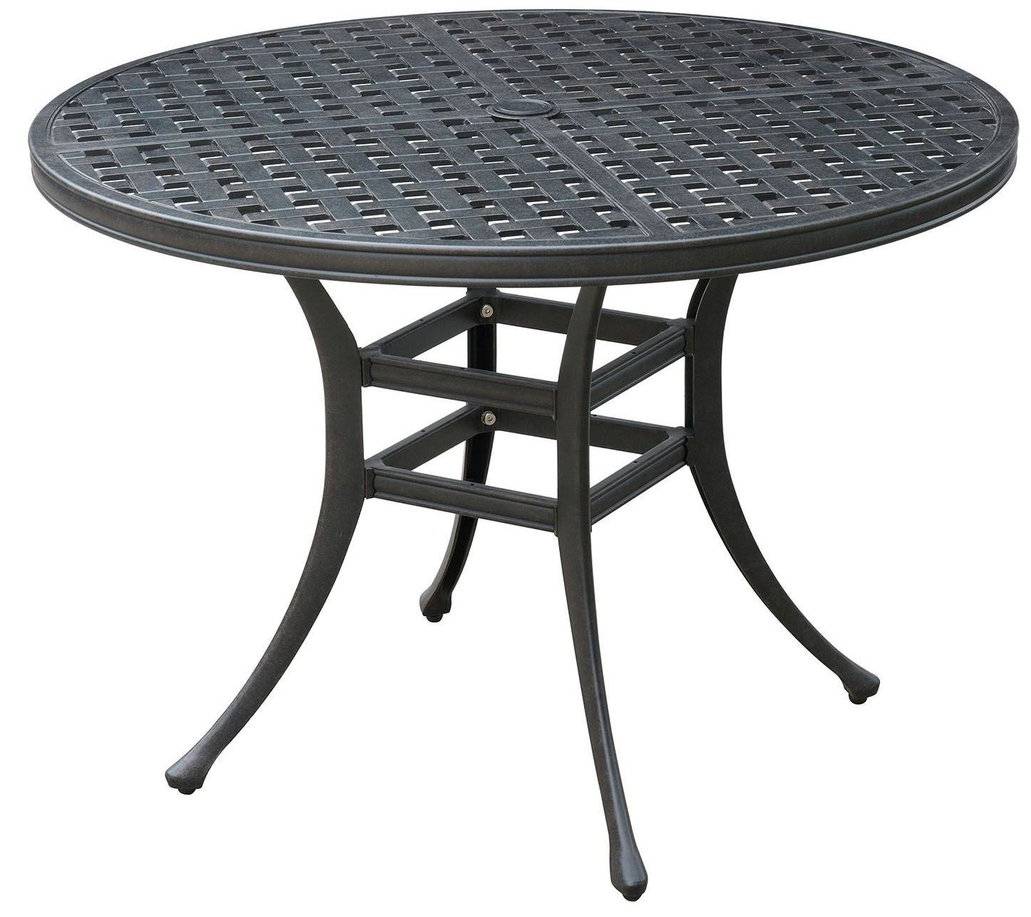 Best ideas about Round Patio Dining Table . Save or Pin Chiara II Dark Gray Round Patio Dining Table CM OT2303 RT Now.