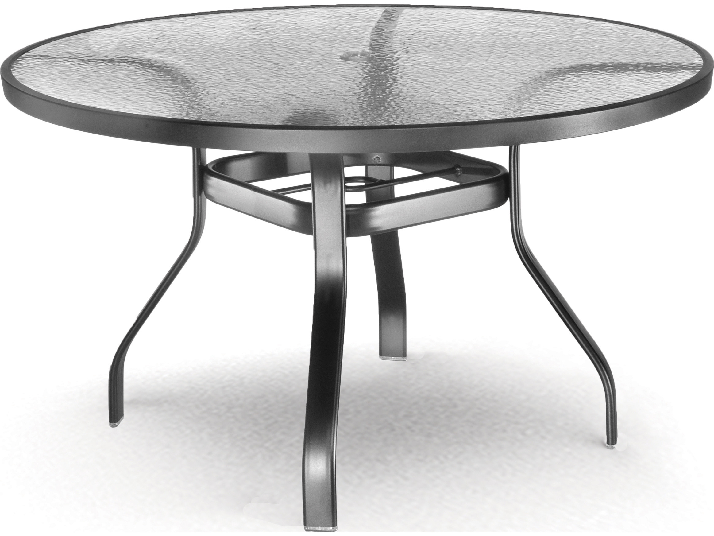 Best ideas about Round Patio Table . Save or Pin Homecrest Glass Aluminum 48 Round Dining Table with Now.