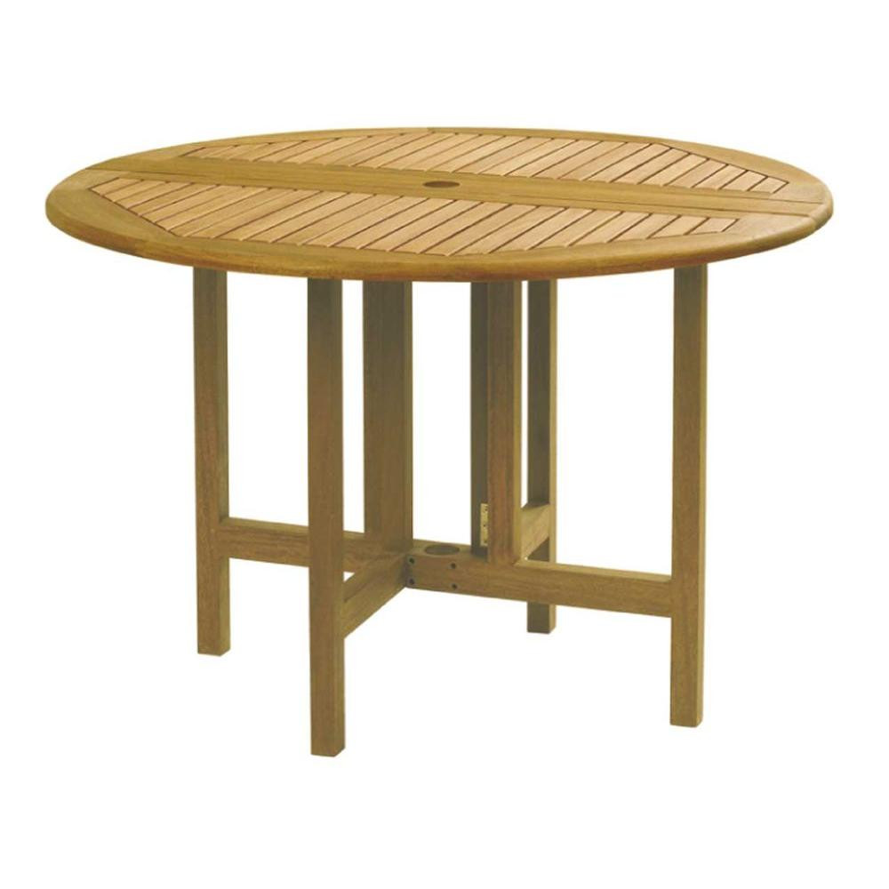 Best ideas about Round Patio Table . Save or Pin Celebration Drop Leaf Round Patio Table 880 3285 The Now.