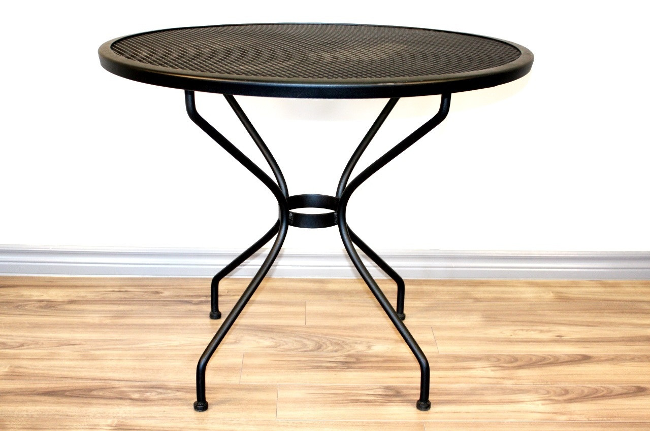 """Best ideas about Round Patio Table . Save or Pin Round Iron Patio Table 36"""" Now."""