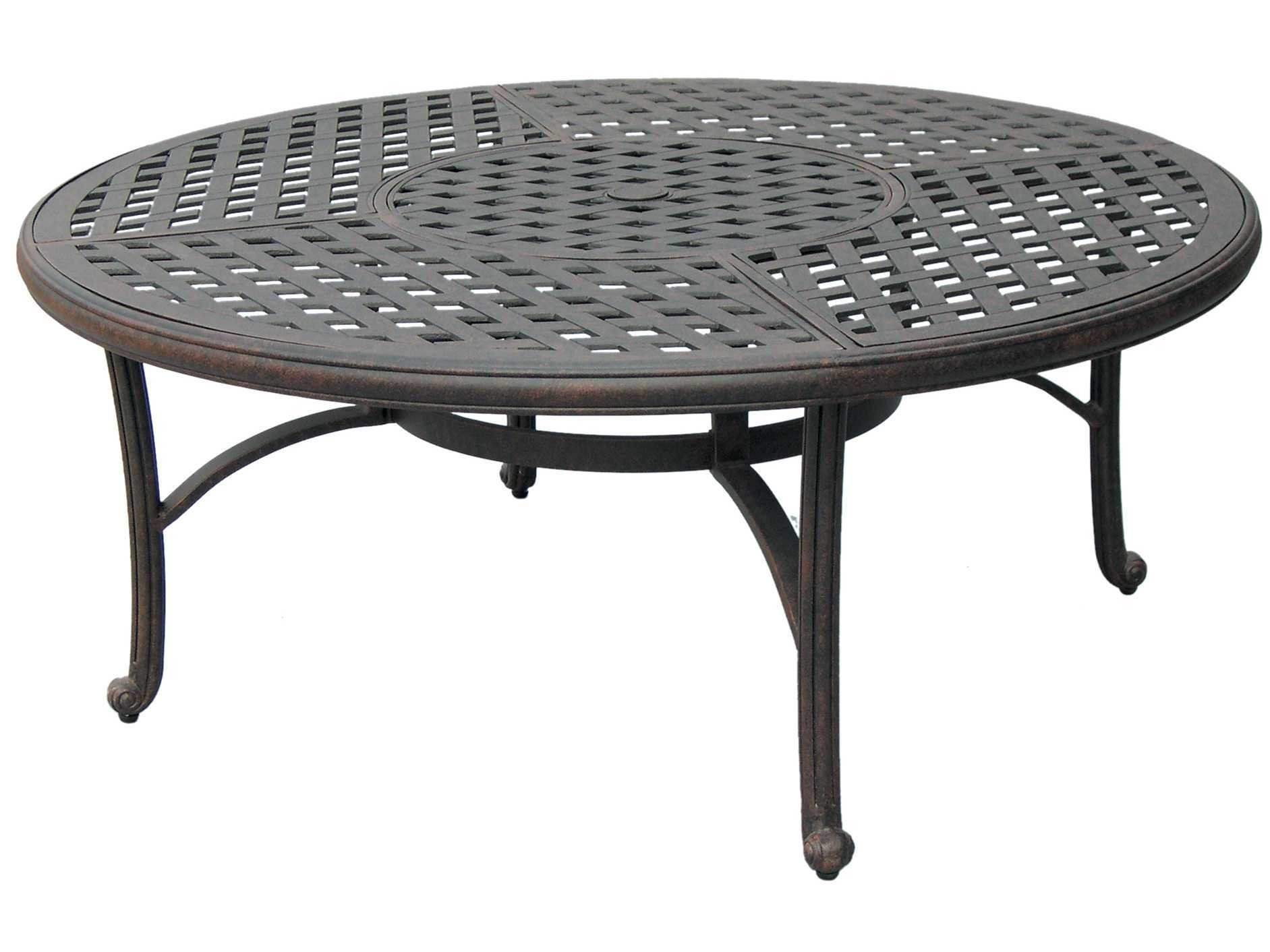 Best ideas about Round Patio Table . Save or Pin Darlee Outdoor Living Series 30 Cast Aluminum Antique Now.