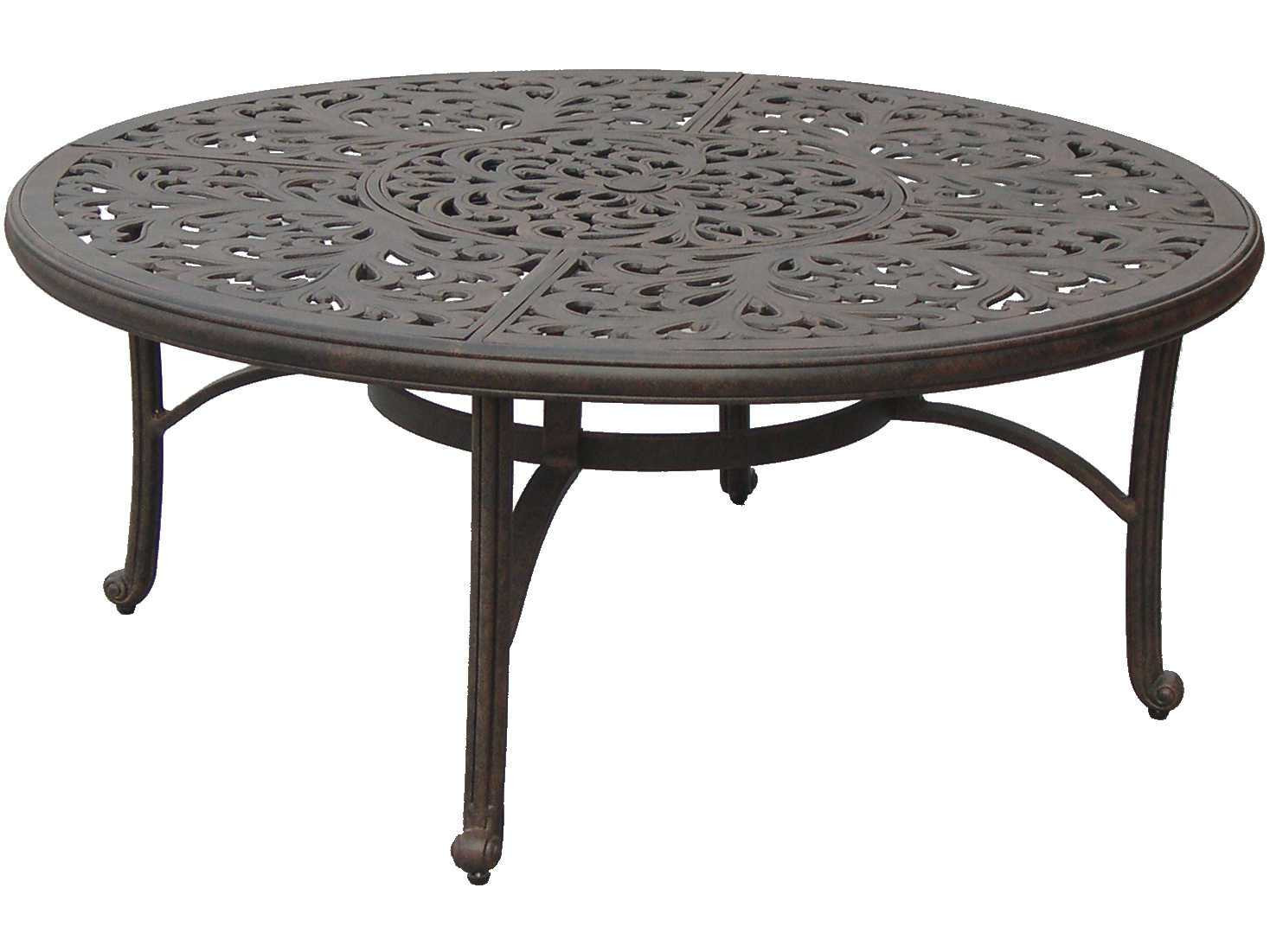 Best ideas about Round Patio Table . Save or Pin Darlee Outdoor Living Series 80 Cast Aluminum Antique Now.