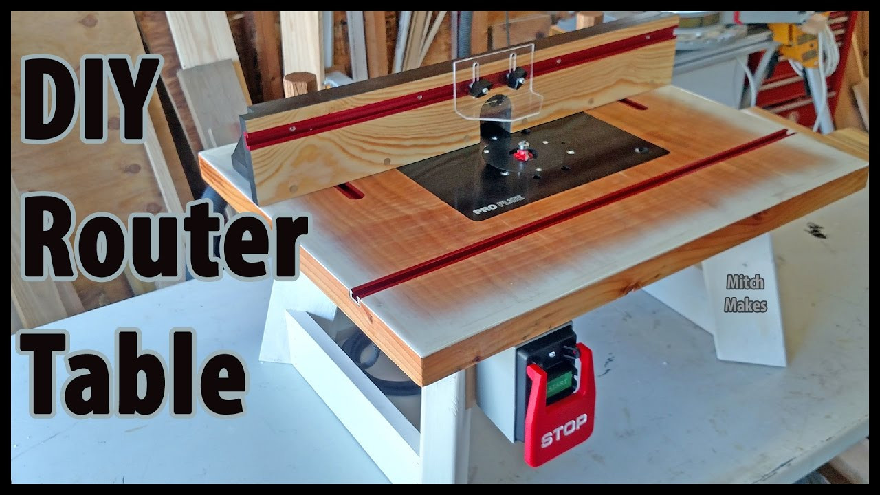 Best ideas about Router Table DIY . Save or Pin Build a Benchtop ROUTER TABLE Now.