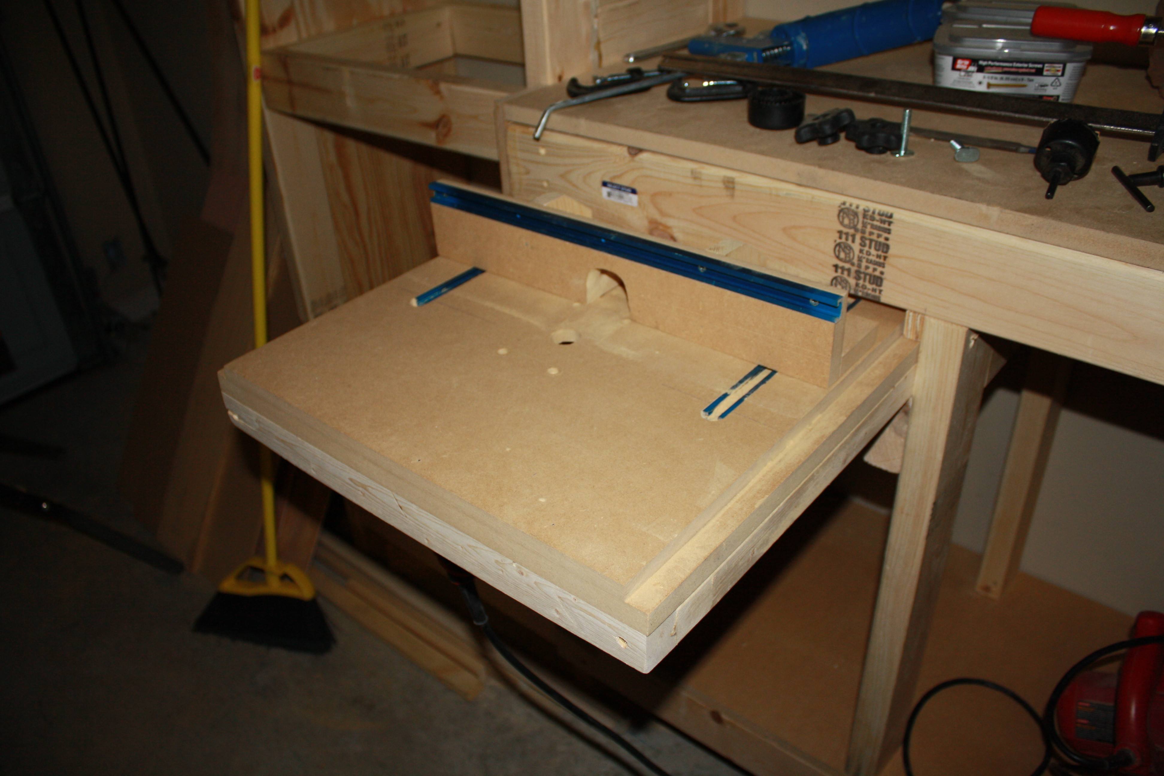 Best ideas about Router Table DIY . Save or Pin DIY Homemade Horizontal Router Table Plans PDF Download Now.