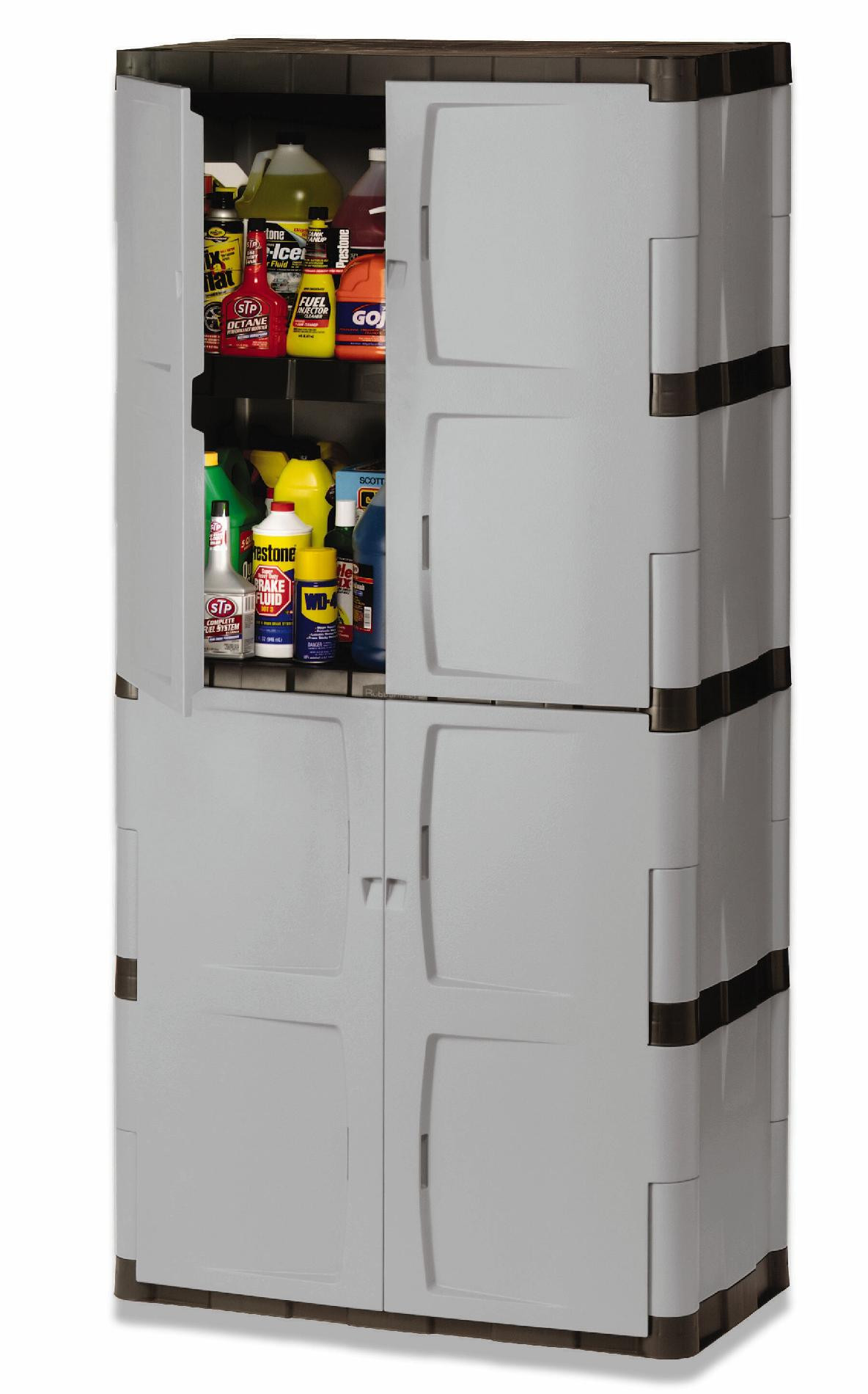 Best ideas about Rubbermaid Storage Cabinets . Save or Pin Rubbermaid FG MICHR Full Double Door Cabinet Now.