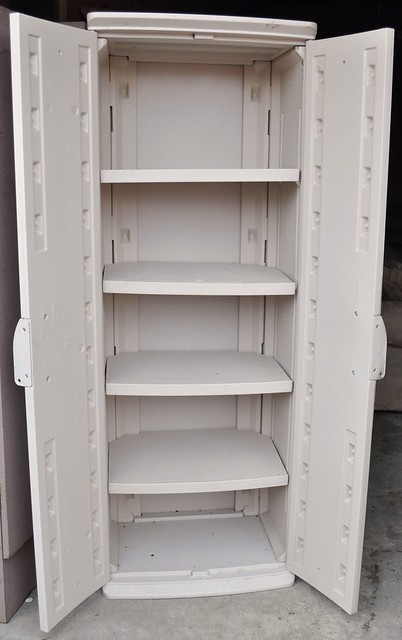 Best ideas about Rubbermaid Storage Cabinets . Save or Pin Rubbermaid storage cabinet open Now.