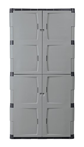 Best ideas about Rubbermaid Storage Cabinets . Save or Pin Storage Cabinet Rubbermaid 7083 72 Inch Four Shelf Double Now.