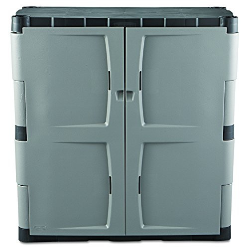 Best ideas about Rubbermaid Storage Cabinets . Save or Pin Rubbermaid Resin Storage Cabinet Base FG MICHR New Now.