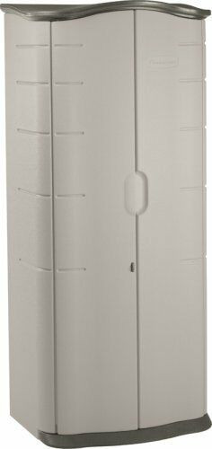 Best ideas about Rubbermaid Storage Cabinets . Save or Pin Rubbermaid Garage Storage Cabinet Utility Unit Now.