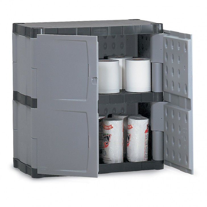 Best ideas about Rubbermaid Storage Cabinets . Save or Pin rubbermaid storage cabinets with doors – Roselawnlutheran Now.