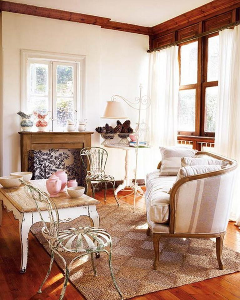 Best ideas about Rustic Living Room Ideas . Save or Pin 30 Distressed Rustic Living Room Design Ideas To Inspire Now.