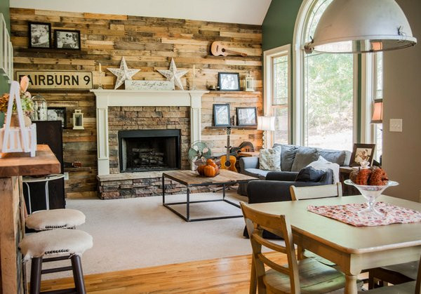 Best ideas about Rustic Living Room Ideas . Save or Pin 15 Homey Rustic Living Room Designs Now.