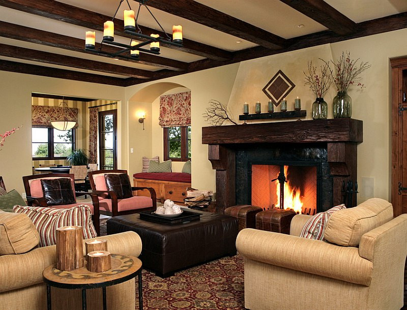 Best ideas about Rustic Living Room Ideas . Save or Pin 30 Rustic Living Room Ideas For A Cozy Organic Home Now.