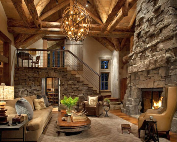 Best ideas about Rustic Living Room Ideas . Save or Pin 18 Elegant Modern Rustic Living Room Ideas For You to Try Now.