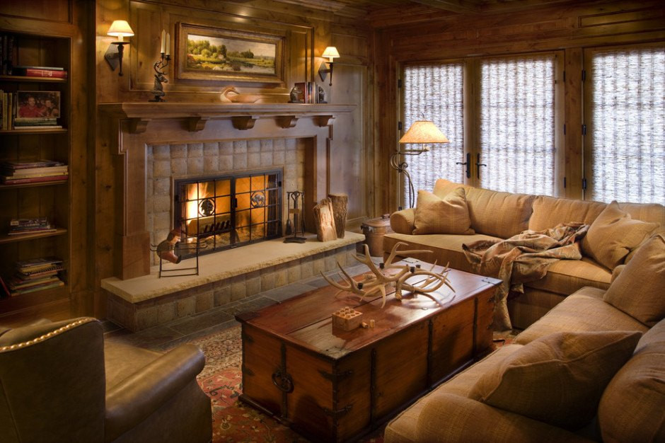 Best ideas about Rustic Living Room Ideas . Save or Pin 10 Gorgeous Cabin Inspired Living Room Ideas Now.