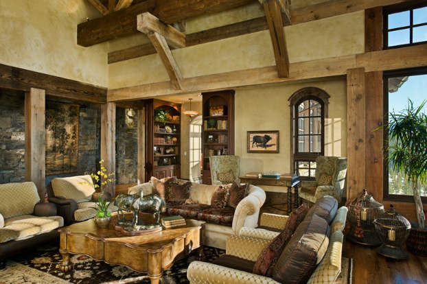 Best ideas about Rustic Living Room Ideas . Save or Pin 40 Awesome Rustic Living Room Decorating Ideas Decoholic Now.